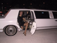 Limo night with Sharon DeWitt