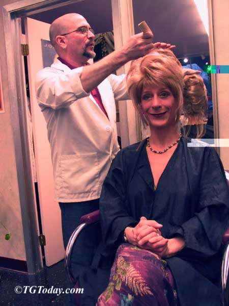Sharon DeWitt at Options Salon